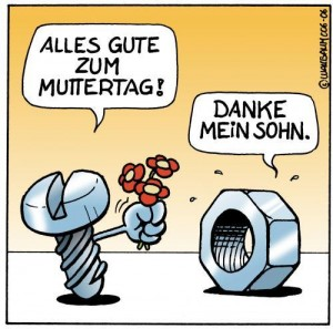 öfter Muttertag Comic