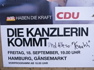 2009 CDU-Plakat *yeah*