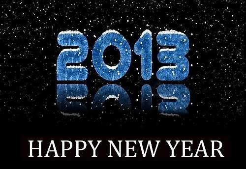 öfter 2013 - Happy New Year - Guten Rutsch