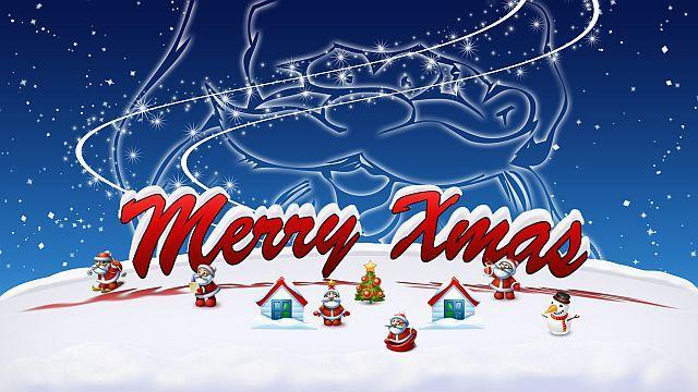 öfter merry xmas - frohe weihnachten