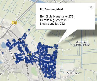 EWE - Breitband-Engagement - Hemmoor Basbeck