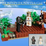 öfter inoffizielle Monty Python Lego-Sets - The Black Knight