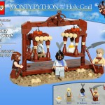 öfter inoffizielle Monty Python Lego-Sets - The Witch Trial
