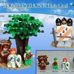 öfter inoffizielle Monty Python Lego-Sets - Brave Sir Robin