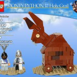 öfter inoffizielle Monty Python Lego-Sets - The Trojan Rabbit