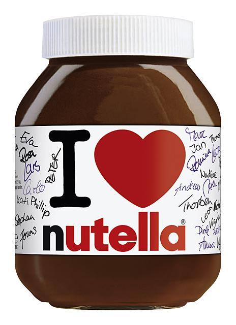 öfter I Love Nutella
