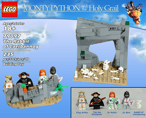 öfter inoffizielle Monty Python Lego-Sets - The Rabbit of Caerbannog