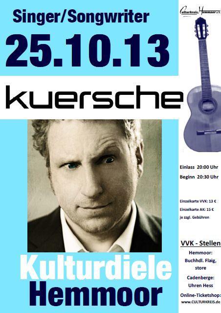 öfter Plakatbild - Kuersche - Culturkreis Hemmoor - Kulturdiele