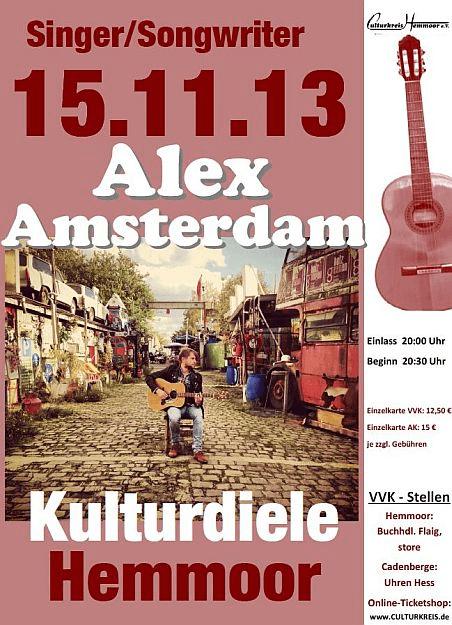 öfter Alex Amsterdam - Odeville - Kulturdiele - Hemmoor