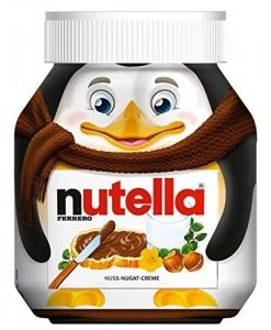 öfter Nutella Weihnachtsedition Pinguin