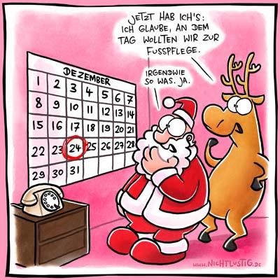 Weihnachten fällt aus! Reine Kosten- und Terminfrage :)