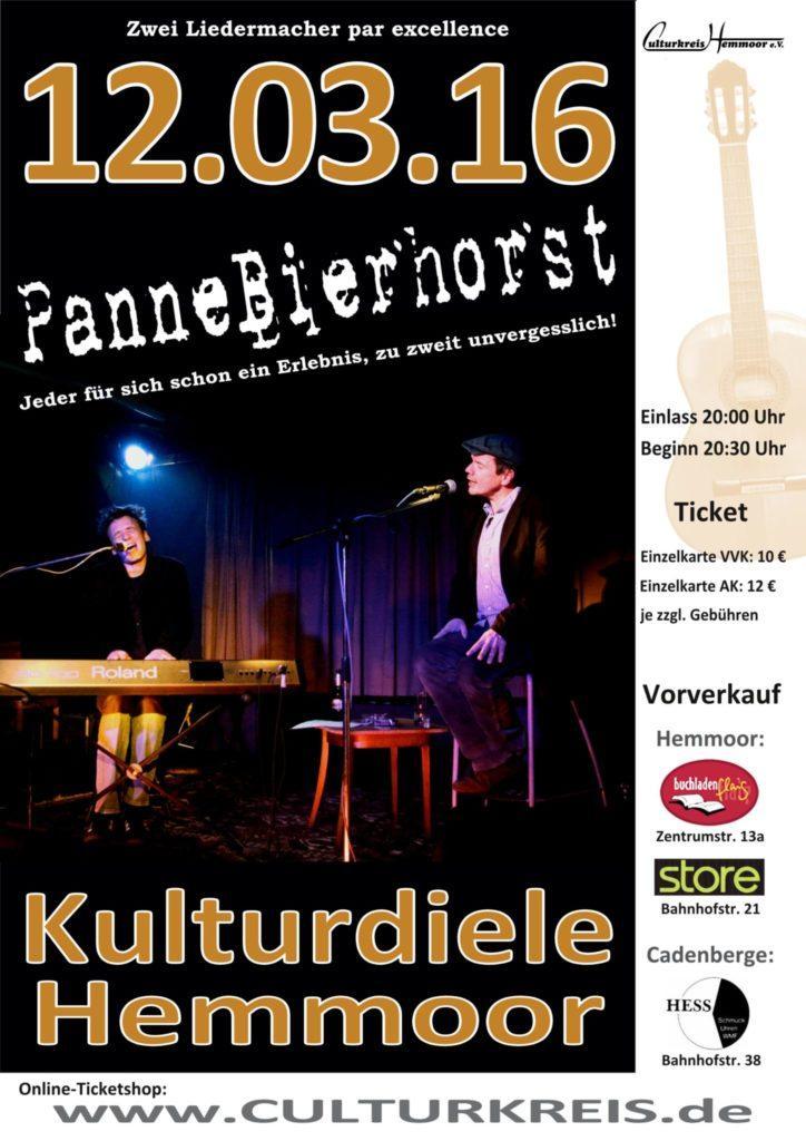 Pannebierhorst - Kulturdiele - Culturkreis Hemmoor e.V.